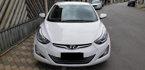 Hyundai Elantra Branco 2015/2016 2.0 16v Gls Flex Aut. 4p