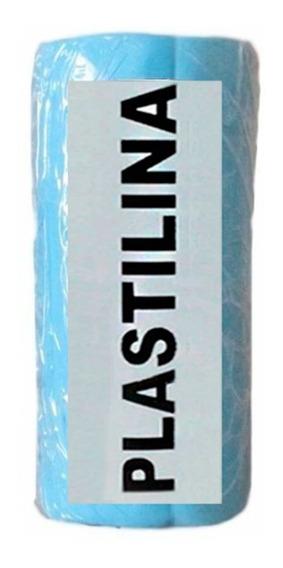 Massa De Modelar ( Tipo Clay ) Plastilina Azul Caixa 500 G