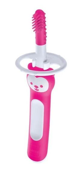 Massageador Dental Massaging Brush - (3+m) - Rosa - Mam