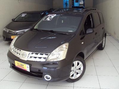 Nissan Livina Night & Day 1.6 Flex Mec Ano 2012 Completa