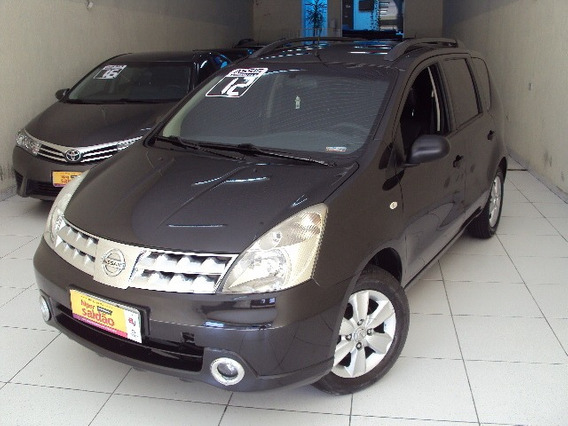 Nissan Livina Night & Day 1.6 Flex Mec Ano 2012 Completa