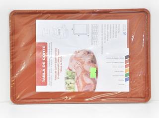 Tabla De Corte Gastronomica 20x30 Marron Claro