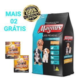 Ração Super Premium Magnus Filhote Frang/arroz 15kg + Brinde