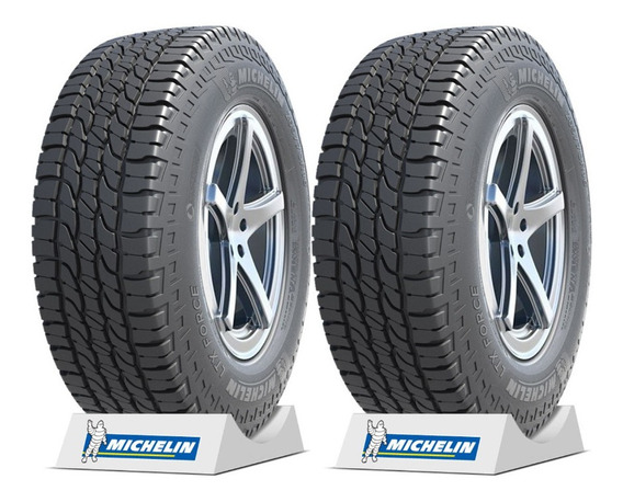 Kit 2 Pneus Michelin 205/60 R16 92h Tl Ltx Force