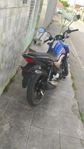 Imagem 1 de 3 de Honda Titan 160 Azul