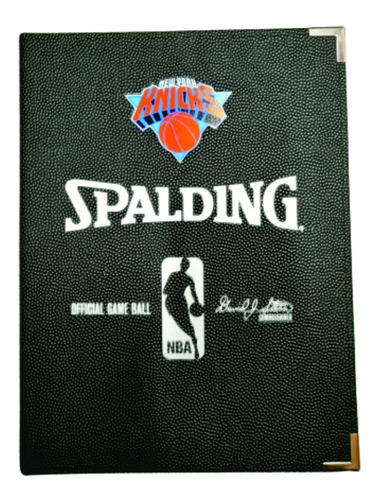 Cuadernola Spalding Dt Basketball Nba New York Knicks - Auge