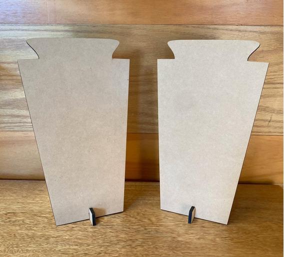 Set De Exhibidores Mdf 6mm, Porta Collares Cadenas