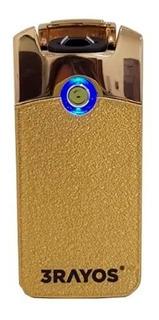 Encendedor Eléctrico Recargable Usb 3 Rayos Pulse Cuotas