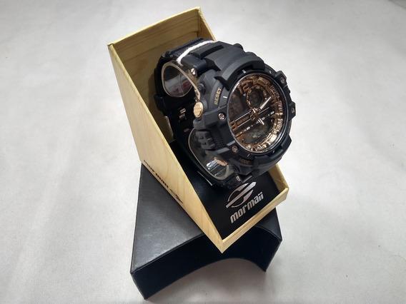 Relógio Mormaii Acqua Metallics Mo0949/8u Digital Analogico