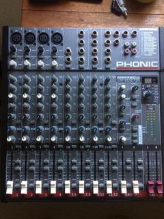 Mixer / Mezcladora Phonic Am442d Usb