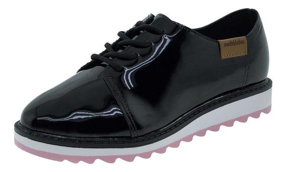 Sapato Infantil Feminino Oxford Molekinha - 2510611 Verniz/p