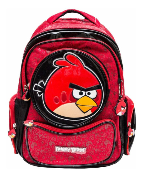 Mochila Notebook Angry Birds Costas Jovem Santino Menino