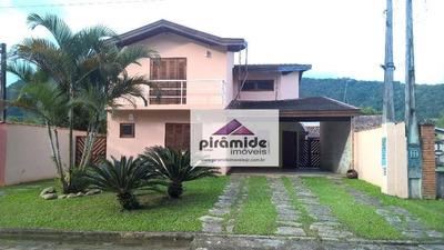 Casa Residencial À Venda, Praia Da Mococa, Caraguatatuba - Ca2881. - Ca2881
