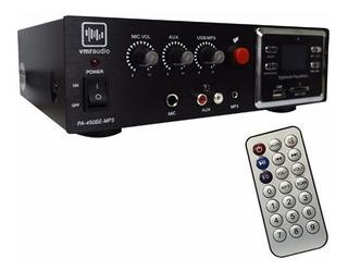 Amplificador Potencia Y Reproductor Mp3 Vmr Pa-450be Mp3 Fer