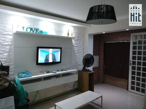 Sobrado À Venda, 75 M² Por R$ 325.000,00 - Sacomã - São Paulo/sp - So0324