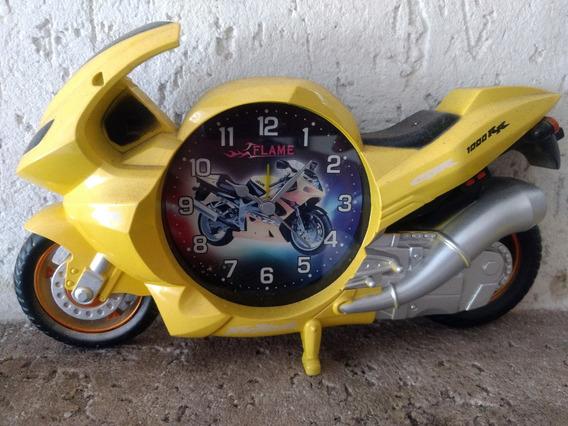 Relógio Moto Flame