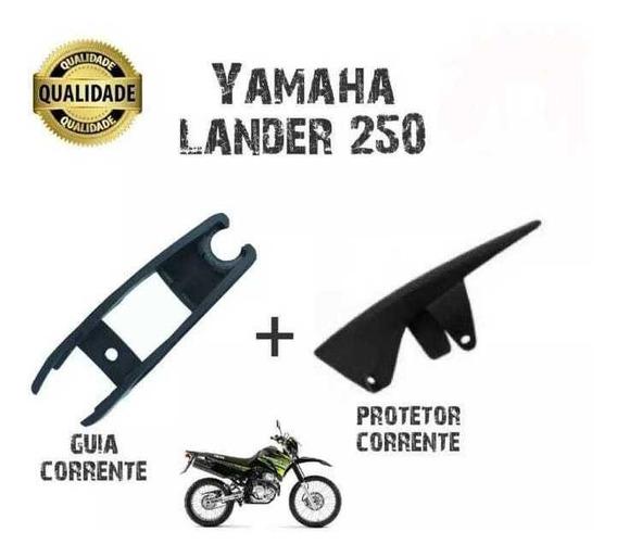 Guia Corrente Transmissão Xtz 250 Lander + Protetor Corrente