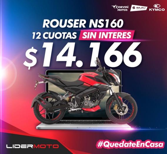 Bajaj Rouser Ns 160 - Lidermoto - San Justo -