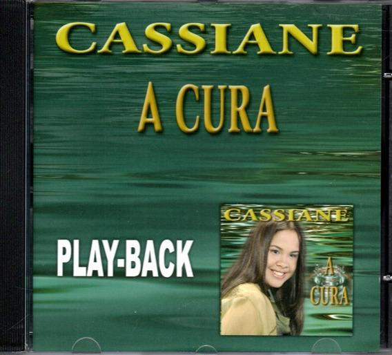 Cd Cassiane - A Cura - Playback