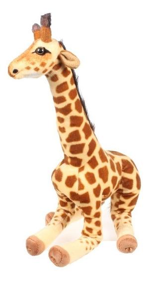Girafa Pelúcia Bicho Selvagem Safari Grande 64cm