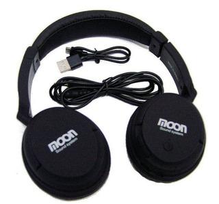 Auricular Inalambrico Bluetooth Moon Ma2400btb - La Roca -
