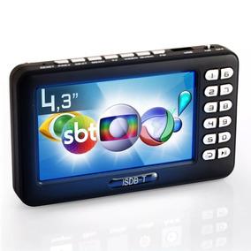 Tv Portatil Monitor Tv Digital 4.3 Pol Micro Sd Antena