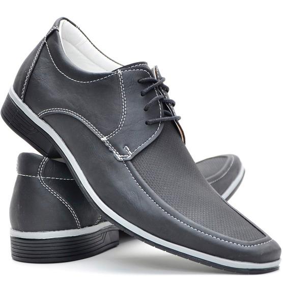 Sapato Masculino Social Casual Sapatenis Cadarço Dhl Calçado