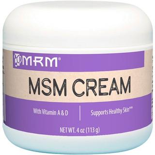 Nova Creme Msm + Aloe Vera +vit A D Mrm 113 Grs Original Usa