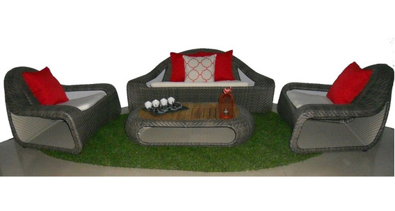 Sala Para Jardín Y Exterior Mod. De Diseñador