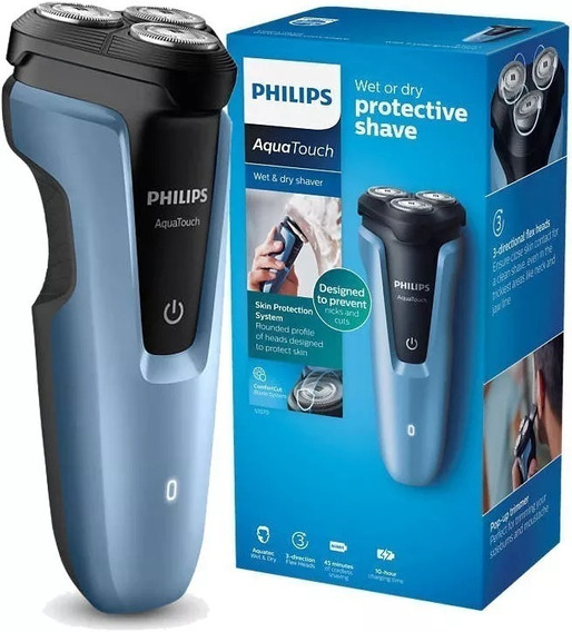 Barbeador S1070/04 Wet And Dry Com Pop-up Trimmer - Philips