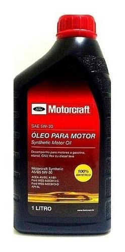 Imagem 1 de 3 de 1 Litro O. Lubrificante Do Motor Motorcraft 5w30 100% S.