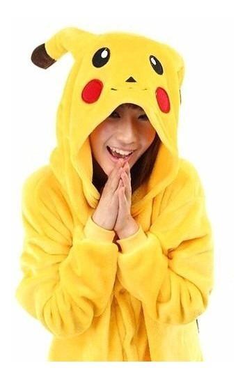Kigurumi Pijama Pikachu Polar Pokemon Disfraz Enterito