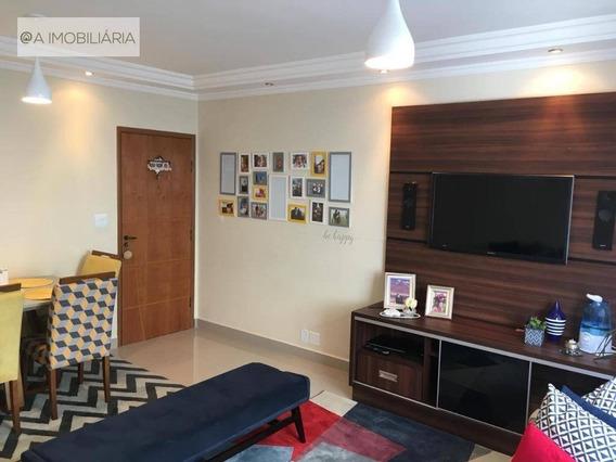 Apartamento Mobiliado E Decorado Para Alugar, 70 M² Por R$ 1.700/mês - Vila Flórida - São Bernardo Do Campo/sp - Ap0614