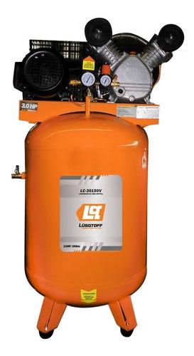 Compresor De Aire 150 Litros 3 Hp Lusqtoff Lc30150v Cuotas
