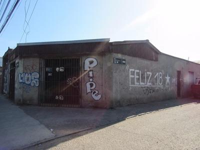 Casa Esquina Con 2 Locales Comerciales - Conchalí
