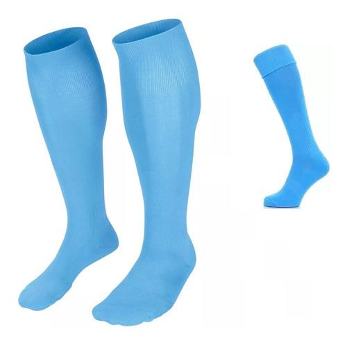 Medias Deportivas Azul Unisex Fútbol Calcetines Calidad