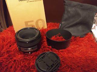 Lente 50mm 1.8 Nikon Estado Premium.
