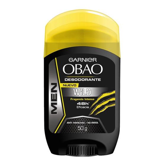Desodorante Hombre Barra Stick Obao Salvaje 50 G Garnier