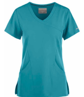Uniforme Médico Sckechers Dama Color Teal Talla Mediana