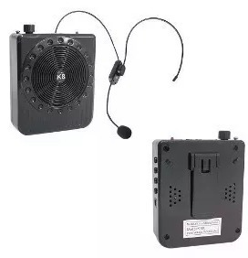Professor Megaphone Speaker - Multi-function - Rádio Fm
