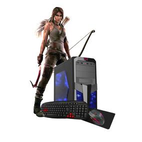 Pc Gamer Core I5 Turbo 3,4ghz 8gb 2tb+ssd +kit Gamer Novo!