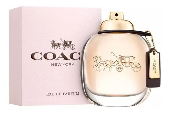 Perfume Coach Feminino Eau De Parfum 90ml Original E Lacrado + Amostra.