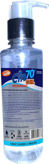 Álcool Gel 70º Inpm -cin Gel 70º - Pump 240ml - Caixa 12uni