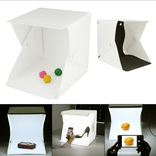 Mini Estudio Fotografico Caja De Luz Fotografía 41x45x40cm
