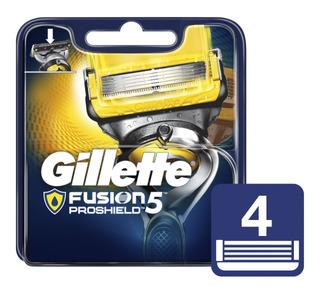 Gillette Fusión Proshield Repuesto X 8 Unidades (2 Pack De4)