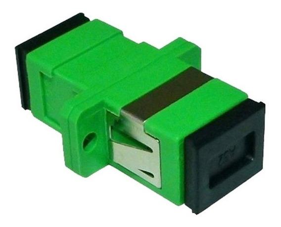Acoplador Adaptador Para Dio Sc/apc Sm 100 Peças C/ Anatel
