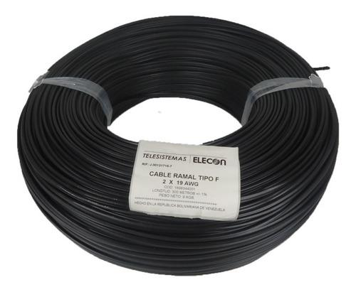 Cable Telefónico Ramal 1par 100% Cobre Elecon Por 10 Metros