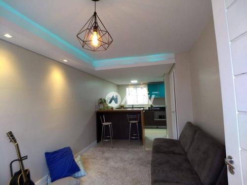Casa Com 2 Dormitórios À Venda, 85 M² Por R$ 263.000,00 - Canudos - Novo Hamburgo/rs - Ca2831