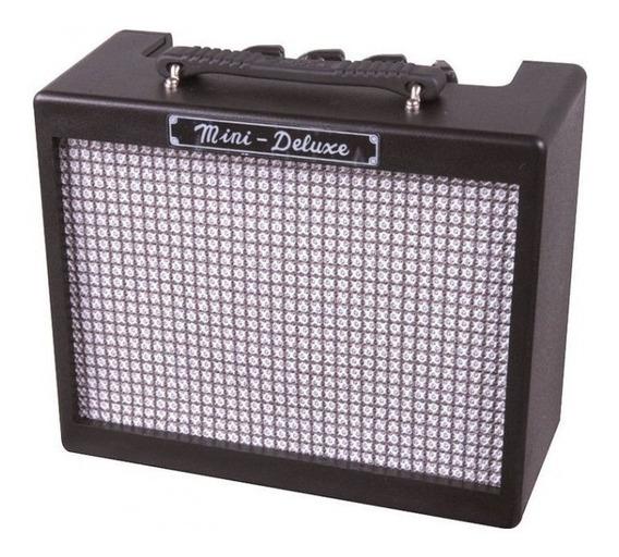 Amplificador Guitarra Fender Mini Deluxe Color Negro Md20