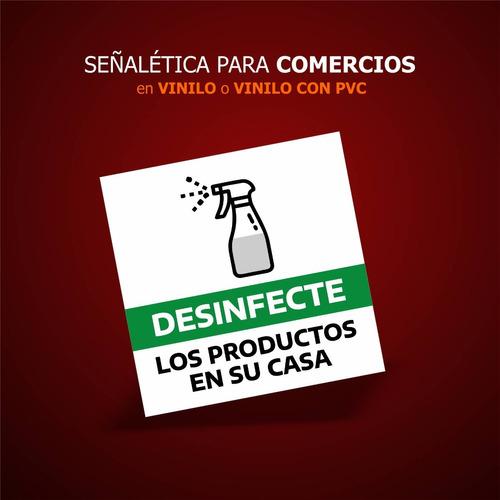 Señaletica Y Carteleria De Prevencion En Pvc Cant. 10